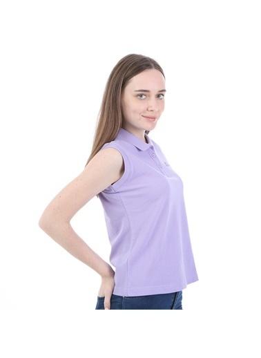 Robe di Kappa Rdk Kadın Kolsu Polo T-Shirt Wws  Lila